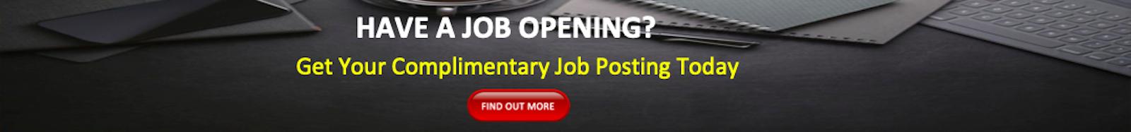 MACEOS Complimentary Job Posting