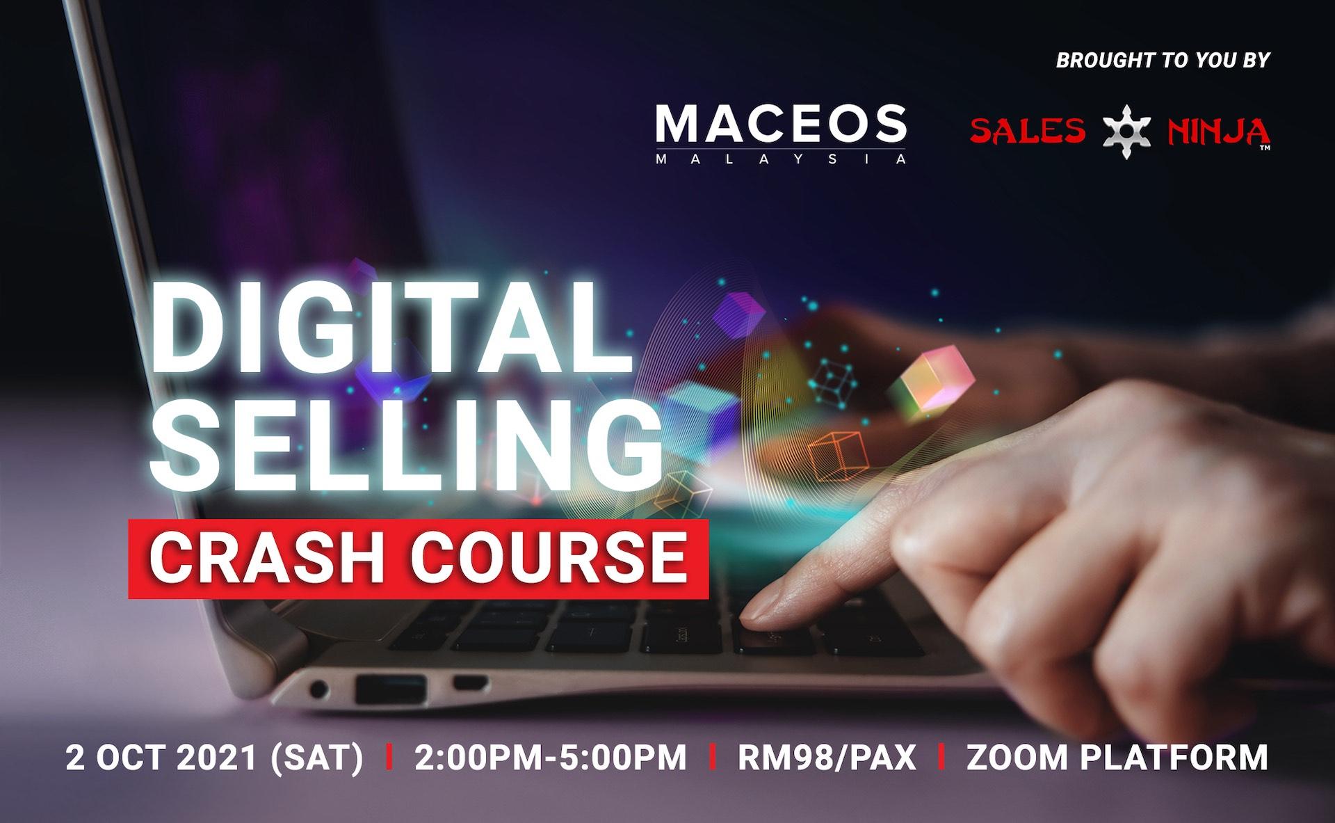 Digital Selling – Crash Course (2 Oct 2021, 2pm-5pm)